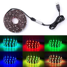 dc led strip lights rgb led strip lights dc 5v tv backlight usb led flexible strip 50cm