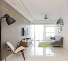 punggol walk scandinavian hdb clean white stylish living rooms