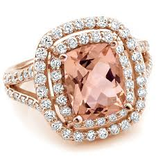 morganite engagement ring gold 40 best morganite engagement rings images on
