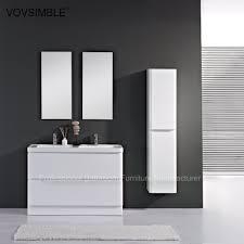 high quality floor standing double sink bathroom vanity top modern