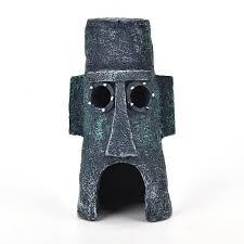 aliexpress buy 1pc squidward mask resin crafts aquatic