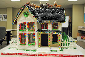 Gingerbread House Decoration Howtocookthat Cakes Dessert U0026 Chocolate Gingerbread House