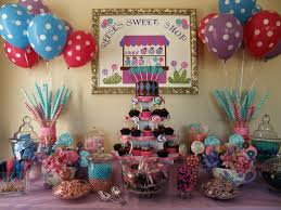 Candy Party Table Decorations Candy Buffet Ideas For Birthday Party 3000 Eye Candy