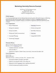 sle electrical engineering resume internship format resume frightening intern sle for internship communications