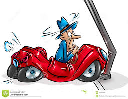 wrecked car drawing car accident cartoon stock illustration image of comical 28047495