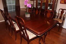 kincaid commonwealth cherry dining room set for sale in tomball