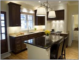 paint colors for kitchens with dark brown cabinets painting
