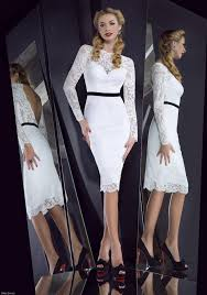 white lace dress with sleeves knee length enticing vintage sleeves halter white knee length dress
