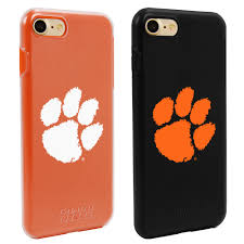 Clemson Flags Clemson Tigers Fan Pack 2 Cases For Iphone 7 8 With Guard Glass