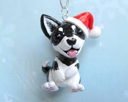 husky ornament by dragonsandbeasties on deviantart