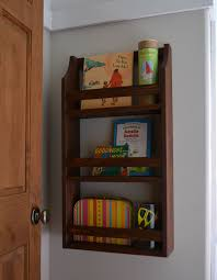 Wood Shelf Plans For A Wall by Ana White Hailey Wall Magazine Shelf Diy Projects