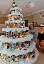 best 25 christmas tree village ideas on pinterest