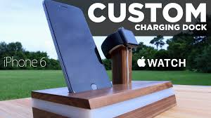 Phone Charging Stand by Mike Makes A Custom Apple Watch Charging Stand Youtube