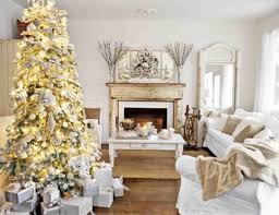 interior inspiration briliant white themes christmas living room