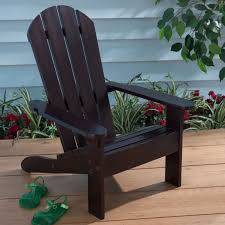 Childrens Adirondack Chair Winland Palm Tree Outdoor Wood Kids Adirondack Chair With Table