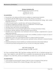 Resume For New Job by Resume For Others