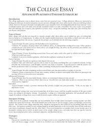 Standard Essay Format Example College Essay Structure Docoments Ojazlink