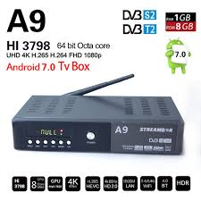 android apps plus aliexpress buy genuine streambox a9 plus 4k h 265 dvb s2 t2