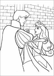 aurora prince castle coloring cute pages