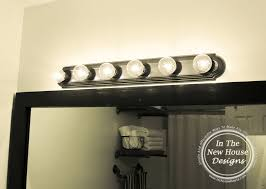 Farmhouse Bathroom Lighting Industrial Farmhouse Bathroom Reveal In The New House