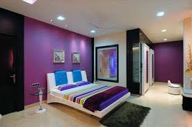 deep purple paint colors bedroom bedroom colour combinations