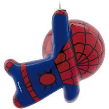 Marvel Christmas Ornaments - hallmark marvel spider man decoupage ornament walmart com
