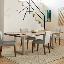 live edge wood dining table west elm dining tables u0026 chairs