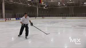 mlx ice hockey skating lesson power turns youtube
