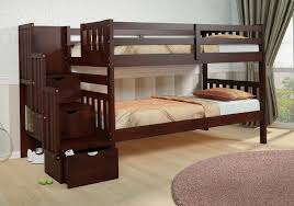 Bunk Bed With Cot Solid Wood Bunk Beds For Sale Med Art Home Design Posters