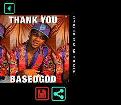 Thank You Based God Meme - lil b launches thank you based god meme creator app music news