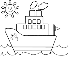 ship coloring pages maritimt ships