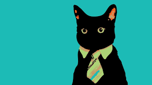 Cat Suit Meme - minimalistic cats animals suit tie meme wallpaper 114625