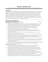 Resume Sample Quality Assurance Specialist by Resume Sample Quality Assurance Acevedosign Ningessaybe Me