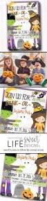 Kids Halloween Birthday Party Invitations by Halloween Party Invitation Trunk Or Treat Flyer Costume Party