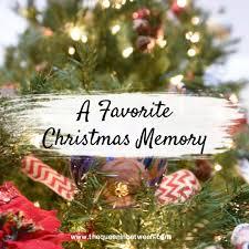 christmas memories spiel the beans linkup the queen in between