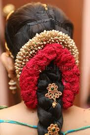 hair accessories for indian weddings deepika s gorgeous hair done up in a traditional bridal