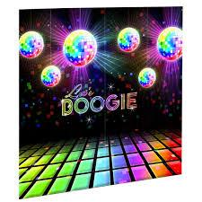 halloween scene setters 70 u0027s disco scene setter big w