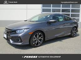 honda civic coupe 2017 2017 new honda civic coupe si manual at honda north serving fresno