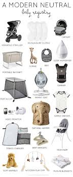 baby registrys a modern neutral baby registry thoughts by natalie nurseries