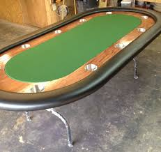 poker table with folding legs 96 custom poker table with metal folding legs