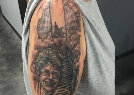 memorial tattoo jesse vickers
