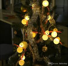 20 led snowman l illumination string lighs decor l