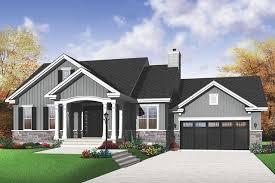 Design Dream Home Online Game Houseplans Com Traditional Front Elevation Plan 23 791 2 Bedroom