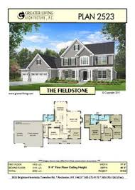 Fieldstone Homes Floor Plans Plan 2378 The Oneida House Plans Two Story House Plans 2