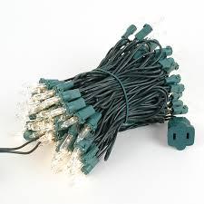 mini light sets 100 light green wire 4 spacing