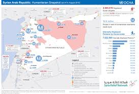 Michigan On Map Maps Syria Relief Network