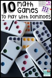 10 math games to play with dominoes math games math and
