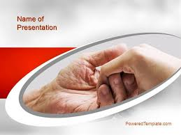 elderly care powerpoint template by poweredtemplate com authorstream