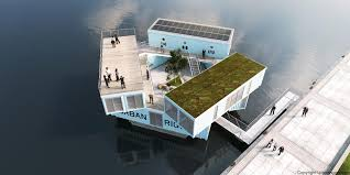 could bjarke ingels u0027 floating shipping containers work for student