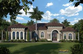 Two Story Spanish Style House Plans Best Mediterranean House